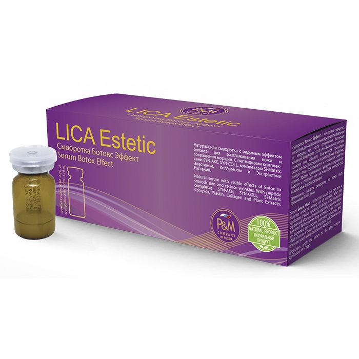 Сыворотка LicaEstetic с ботокс-эффектом купить в интернет-магазине NevenRu